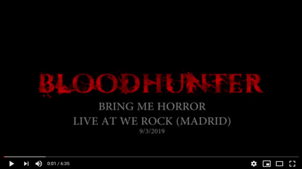 FireShot Capture 011 - BLOODHUNTER - Bring me Horror LIVE AT WE ROCK (2019) - YouTube_ - www.youtube.com